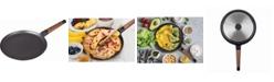 "MasterPan Designer Series Non-Stick Cast Aluminum Crepe Pan with Detachable Handle, 11"""