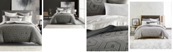 Hotel Collection Textured Hexagon King Comforter, Created for Macy's