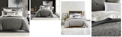 Hotel Collection Textured Hexagon Full/Queen Duvet, Created for Macy's
