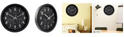 "La Crosse Technology La Crosse Clock 404-2631 12"" Indoor Analog Wall Clock with Temperature and Humidity"