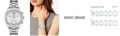 Tissot Women's Swiss Chronograph T-Classic PR 100 Gray Stainless Steel Bracelet Watch 38mm