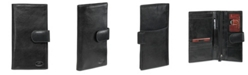 Mancini Equestrian2 Collection RFID Secure Classic Passport / Travel Organizer