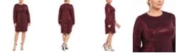 B Darlin Trendy Plus Size Sequined Bodycon Dress