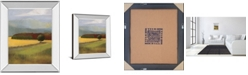 "Classy Art Field of Gold by Judith D'Agostino Mirror Framed Print Wall Art, 22"" x 26"""