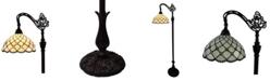 Amora Lighting Tiffany Style Jewel Reading Lamp