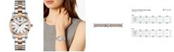 Tissot Women's Swiss T-Wave Two-Tone Stainless Steel Bracelet Watch 30mm