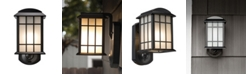Maximus Camera Porch Light, HD Camera with Siren Alarm, Smart Motion Detection