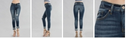 Kancan High Rise Super Skinny Single Fold Jeans