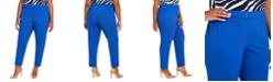 Calvin Klein Plus Size Slim-Leg Dress Pants