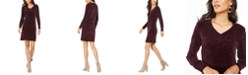 Nine West V-Neck Sweater Dress