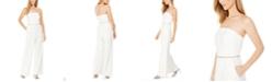 Calvin Klein Strapless Rhinestone Jumpsuit