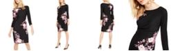 INC International Concepts INC Floral Sheath Dress, Created For Macy's