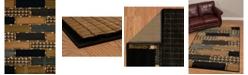 "Asbury Looms Designer Contours Donna Sharp Cobblestone 516 29575 24 Multi 1'10"" x 2'8"" Area Rug"