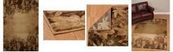 """Asbury Looms Designer Contours Cem Autumn Trace 511 29859 28C Toffee 2'7"""" x 7'4"""" Runner Rug"""