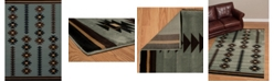"Asbury Looms Designer Contours Cem Painted Arrow 511 31460 24 Blue 1'10"" x 2'8"" Area Rug"