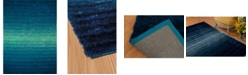 """Asbury Looms Finesse Queues 2100 20760 24 Blue 1'10"""" x 3' Area Rug"""