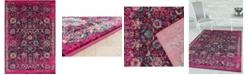 "Asbury Looms Abigail Mirna 713 21181 58 Pink 5'3"" x 7'2"" Area Rug"