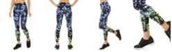 Calvin Klein Malibu Printed High-Waist Leggings