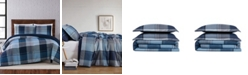 Truly Soft Trey Plaid King Comforter Set