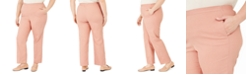 Alfred Dunner Plus Size Pearls of Wisdom Proportioned Pants
