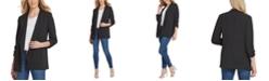 DKNY Foundation Open-Front Jacket