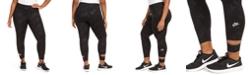 Nike Plus Size Cut-Out Logo Pants