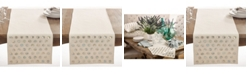 Saro Lifestyle Mother Of Pearl Design Table Runner
