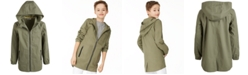 Epic Threads Big Boys Hooded Canvas Jacket, Created for Macy's