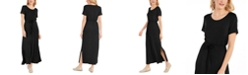 Style & Co Tie-Waist Maxi Dress, Created for Macy's