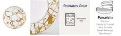 Noritake Raptures Gold Saucer