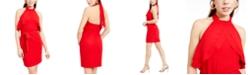 bebe Juniors' Halter-Neck Bodycon Dress