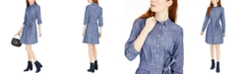 Tommy Hilfiger Tie-Waist Cotton Shirtdress