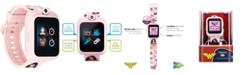 iTouch Kids PlayZoom DC Comics Blush Wonder Woman Strap Touchscreen Smart Watch 42x52mm