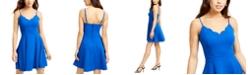 B Darlin Juniors' Scalloped Fit & Flare Dress