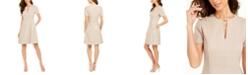 Elie Tahari Ariel Keyhole Dress