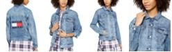 Tommy Jeans Oversized Denim Trucker Jacket