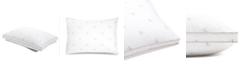 Calvin Klein Monogram Logo Firm Support Cotton Pillow, King