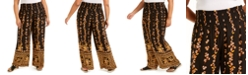 Band of Gypsies Trendy Plus Size Printed Palazzo Pants