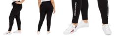 Tommy Hilfiger Plus Size Logo-Print Leggings
