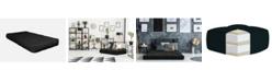 "AJD Home 6"" Double CertiPUR-US Certified Foam Futon Mattress, Twin"