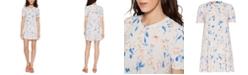 BCBGeneration Floral-Print Swing Dress