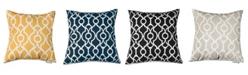 "Majestic Home Goods Athens Decorative Throw Pillow Extra Large 24"" x 24"""