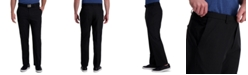 Haggar Cool Right Performance Flex Classic Fit Flat Front Pant