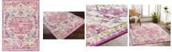 "Abbie & Allie Rugs Floransa FSA-2308 Pink 7'10"" x 10' Area Rug"
