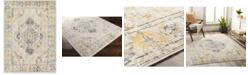 "Abbie & Allie Rugs Floransa FSA-2311 Yellow 5'3"" x 7'1"" Area Rug"