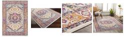 "Abbie & Allie Rugs Floransa FSA-2316 Yellow 5'3"" x 7'1"" Area Rug"