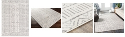 """Abbie & Allie Rugs Roma ROM-2328 Charcoal 5'3"""" x 7'1"""" Area Rug"""