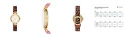 kate spade new york Rainey Park Leopard-Print Reversible Watch, 30MM