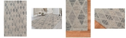 Amer Rugs Vector VEC-32 Charcoal 2' x 3' Area Rug