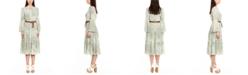 Michael Kors Belted Midi Dress